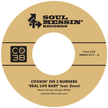 Cookin' On 3 Burners Soul Messin' Records